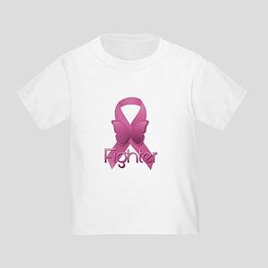 3cbce781 Breast Cancer Warrior Toddler T-Shirts - CafePress