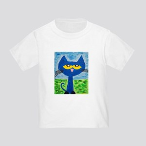 Pete the cat painting T-Shirt