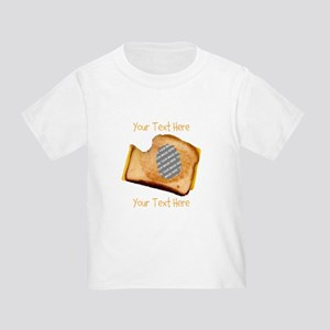 YOUR FACE Grilled Cheese Sandwich Toddler T-Shirt