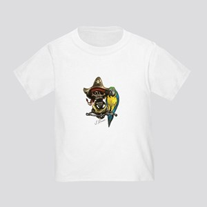 J Rowe Pirate & Parrot T-Shirt