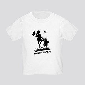 Long Live Anarchy Toddler T-Shirt