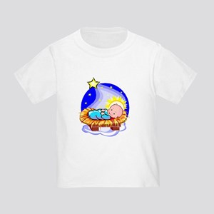 Cute Baby Jesus And Star T-Shirt