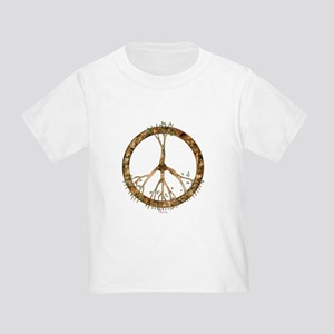 Peace Tree Toddler T-Shirt