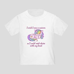 7c9068b3 Funny Unicorn Toddler T-Shirts - CafePress