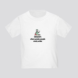 3728bef2d Funny Geologist Toddler T-Shirts - CafePress