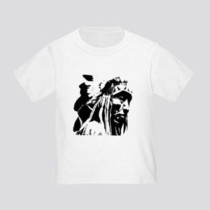 Native American Chief Art Toddler T-Shirt