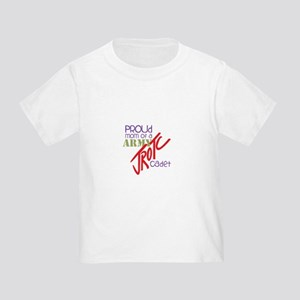 737e12a9 Proud Military Dad Toddler T-Shirts - CafePress