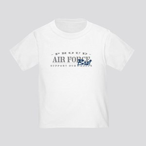 c84e12ef Proud Air Force Brat (Blue) Toddler T-Shirt