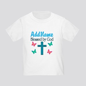 BLESSED BY GOD Toddler T-Shirt