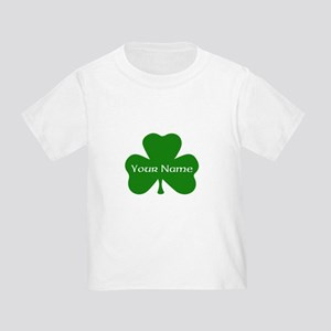CUSTOM Shamrock with Your Name T-Shirt