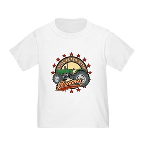 Still Plays with Tractors Green Toddler T-Shirt