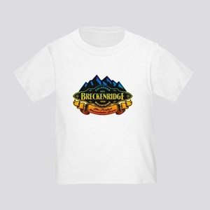 Breckenridge Mountain Emblem Toddler T-Shirt