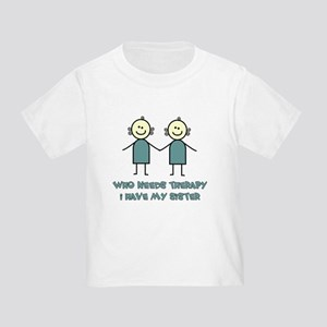 7650e380 Funny Twins Toddler T-Shirts - CafePress