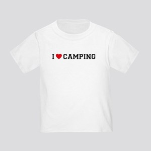 I Love Camping Toddler T-Shirt