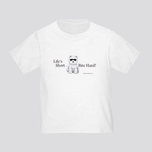 Life's Short Westie Toddler T-Shirt