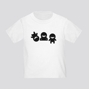 Like a Ninja Toddler T-Shirt