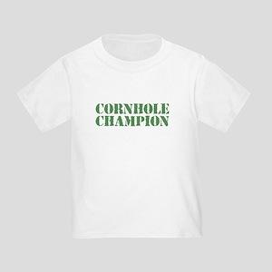 72a5047ca Cornhole Champion Toddler T-Shirts - CafePress