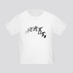 Skateboarding Toddler T-Shirt