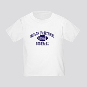 reputable site 07000 868b8 Dillon Panthers Toddler T-Shirts - CafePress
