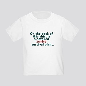 942ae5ac4 Funny Zombie Toddler T-Shirts - CafePress