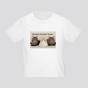 Pussies Against Trump Toddler T-Shirt