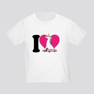I Love Unicorns Toddler T-Shirt