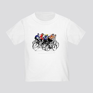 34f9d10f Bicycle Toddler T-Shirts - CafePress