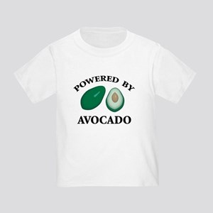 Powered By Avocado Toddler T-Shirt