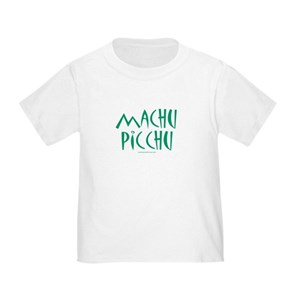 95a6f548 Machu Picchu Toddler T-Shirts - CafePress