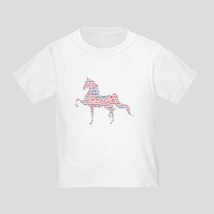 a9b226b8 American Saddlebred Toddler T-Shirts - CafePress