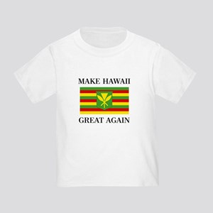 MAKE HAWAII GREAT AGAIN - Kanaka Maoli Fla T-Shirt
