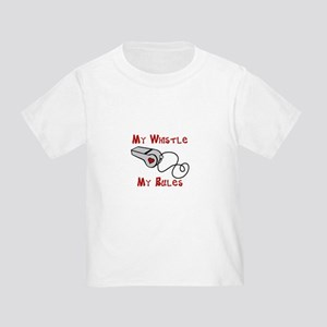 792666c5 Funny Referee Toddler T-Shirts - CafePress