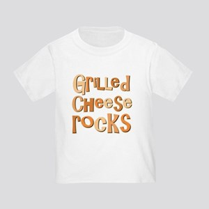 Grilled Cheese Rocks Lover Toddler T-Shirt