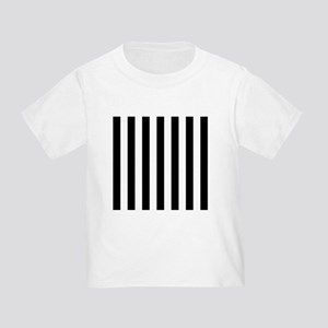 a568e1cb17 Black And White Striped Toddler T-Shirts - CafePress