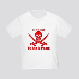 To Arr Is Pirate Red T-Shirt