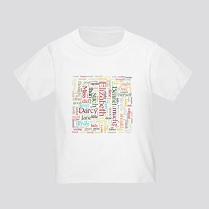 Pride & Prejudice Word Cloud T-Shirt