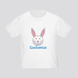 Custom Easter Bunny Toddler T-Shirt