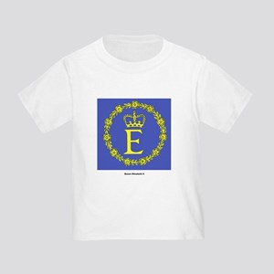 Queen Elizabeth II Flag (Front) Toddler T-S