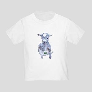 39f796cd Funny Goat Toddler T-Shirts - CafePress