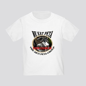 We eat Peta for lunch Toddler T-Shirt