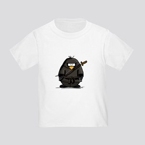 Martial Arts ninja penguin Toddler T-Shirt