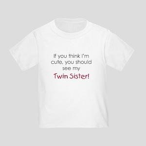 b989baec8 Fraternal Twins Toddler T-Shirts - CafePress
