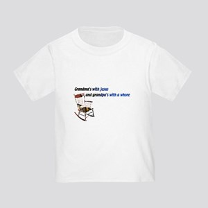 Grandma's with Jesus Toddler T-Shirt