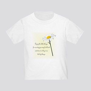 Little Things Daisy Toddler T-Shirt