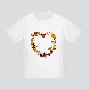 Dog Love Toddler T-Shirt