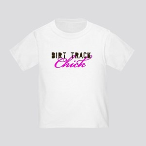 Dirt Track Chick Toddler T-Shirt