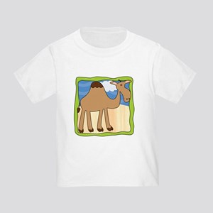 Wandering Camel with Green Border Toddler T