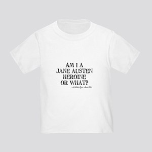 Jane Austen Quote Toddler T-Shirt