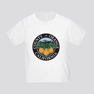 Orange County Seal Toddler T-Shirt