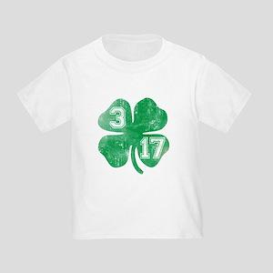 0161f082f St Patricks Day 3/17 Shamrock Toddler T-Shi